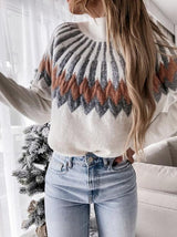 POLAR SWEATER WHITE-SWEATER-Le Musthave