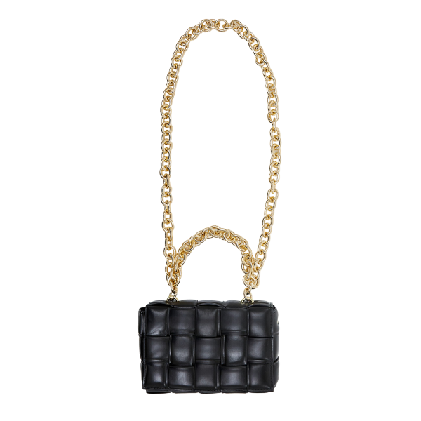 STAY GOLDEN BLACK-bags-Le Musthave