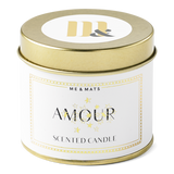TIN AMOUR - CANDLE-candle-Le Musthave