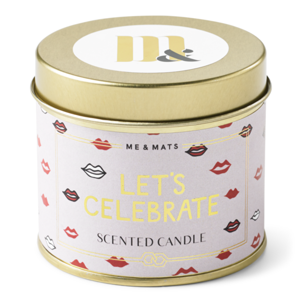 TIN LETS CELEBRATE - CANDLE-candle-Le Musthave