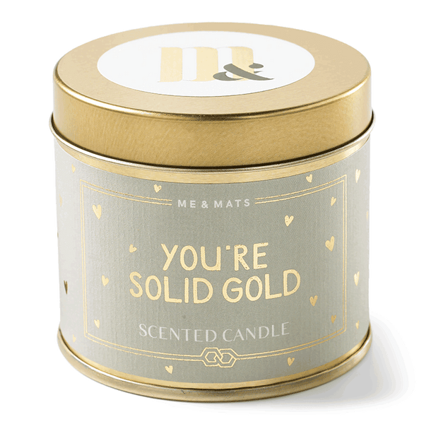 TIN SOLID GOLD - CANDLE-candle-Le Musthave