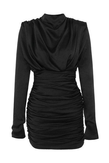 UNIQUE THE LABEL - HOLLY DRESS BLACK-Dress-Le Musthave