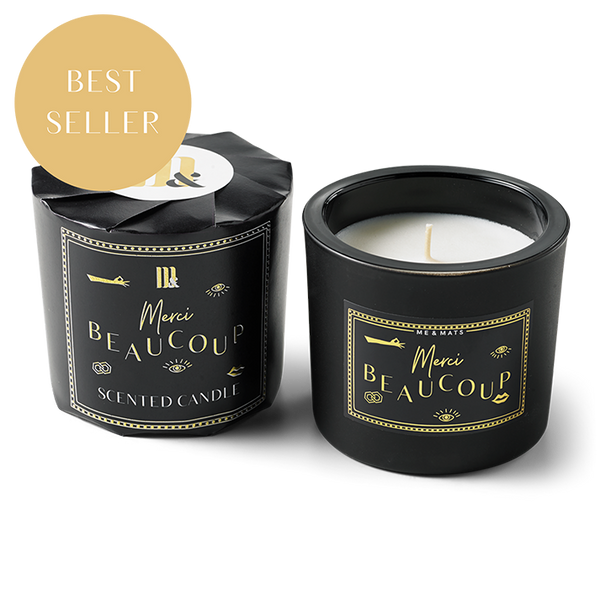 WRAPPED SCENTED MERCI BEAUCOUP - CANDLE-candle-Le Musthave