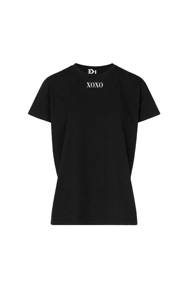 XOXO TEE BLACK-SHIRTS-Le Musthave