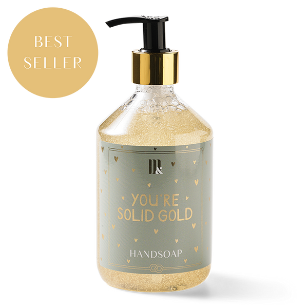 YOU'RE SOLID GOLD - HANDSOAP-care-Le Musthave
