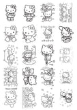 Hello Kitty - Caderno de Colorir