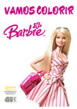 Barbie - Caderno de Colorir