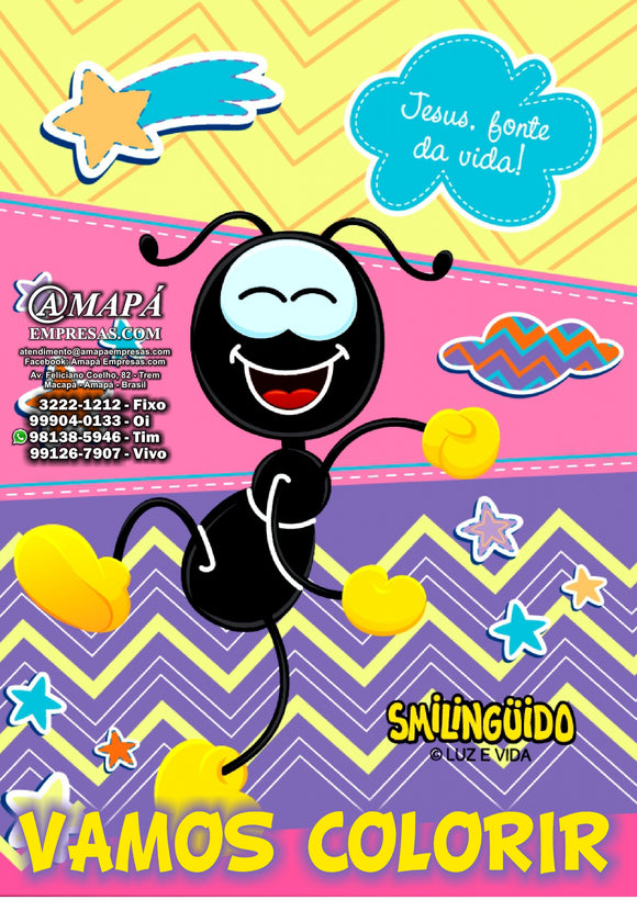 Smilinguido - Caderno de Colorir