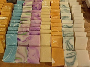 60 Bulk Mini Soap Shower Favors - CraftSoap
