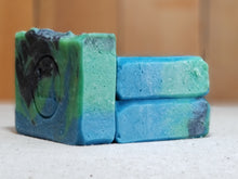 "Load image into Gallery viewer, Blackberry Sage Scented""Celia"" Soap Goddess Loves Shakespeare Soap - CraftSoap"