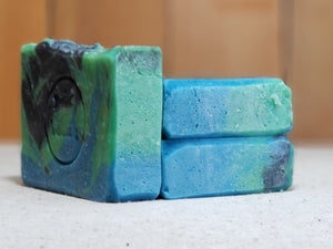 "Blackberry Sage Scented""Celia"" Soap Goddess Loves Shakespeare Soap - CraftSoap"