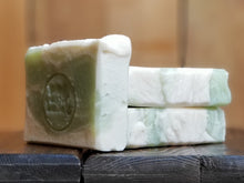 "Load image into Gallery viewer, Fresh Bamboo Scented Soap""Capulet"" Soap Goddess Loves Shakespeare Soap - CraftSoap"