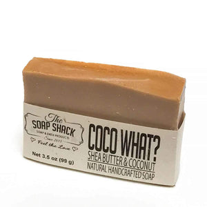 Natural Handmade Bar Soap - Has the scent of Exotic coconut - Handmade with our Special blend of skin Loving oils - CraftSoap