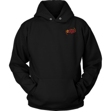 Load image into Gallery viewer, CELEBRATING CULTURA HOODIE - BLACK