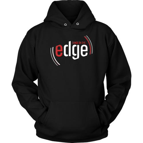 Dance On The Edge Hoodie - Black