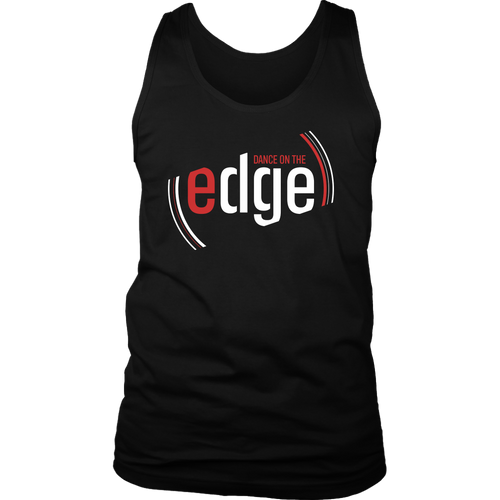 Dance On The Edge Tank - Black