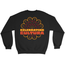 Load image into Gallery viewer, CELEBRATING CULTURA SWEATSHIRT - BLACK