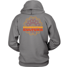 Load image into Gallery viewer, CELEBRATING CULTURA HOODIE - GREY