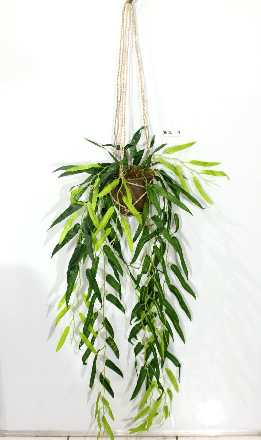 Hanging Bamboo Leaves Macrame