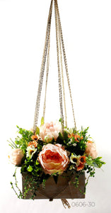 Hanging Daisy Mix Macrame