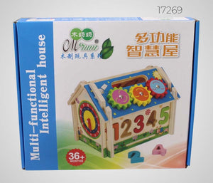 All-in-One Learning Wooden House