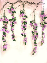 Load image into Gallery viewer, Hanging Clematis Floral Decoration