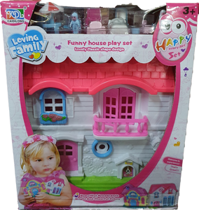 Funny House Mini Doll House Series