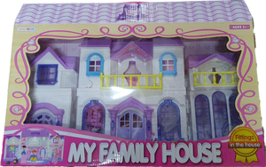 My Family House Large Doll House Series