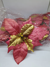 Load image into Gallery viewer, BUY 1 TAKE 1 Poinsettia Sale Per Dozen (20cm)