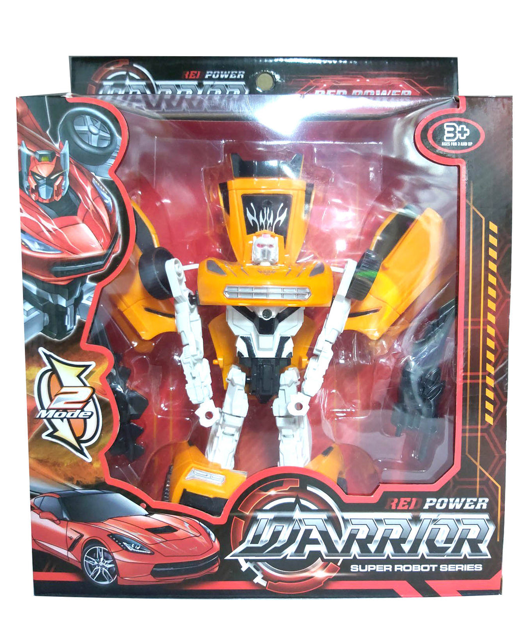 Red Warrior Super Robot Series