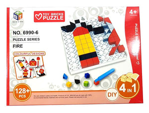 Bricks Puzzle Blocks 4-in-1