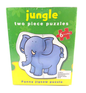 Two Piece Puzzle Series