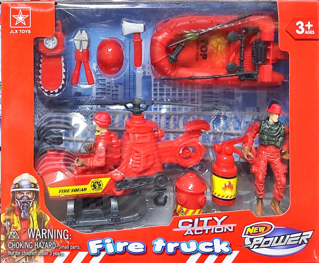 City Action Fire Truck