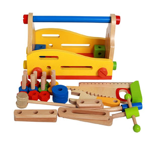 Wooden Fun Nuts and Bolts Tool Set Repair Set