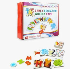 Wooden Flash Cards Early Education