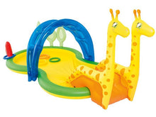 Load image into Gallery viewer, Bestway Giraffe Baby Pool Playhouse