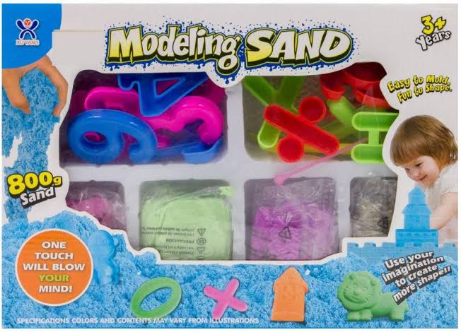 Kinetic Magic Modelling Sand