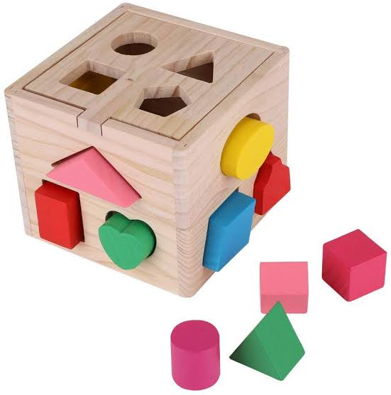 Wooden Shape Blocks