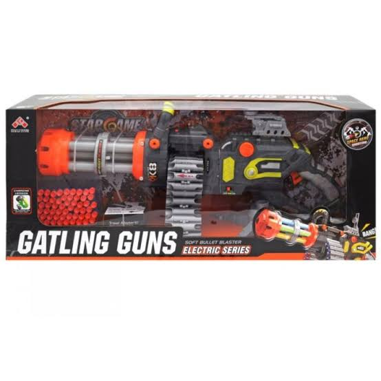 Gatling Gun Soft Bullet Large Automatic