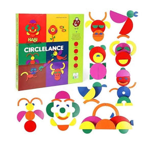 Wooden Circlelance CraftDev Toy Set Wooden Shapes