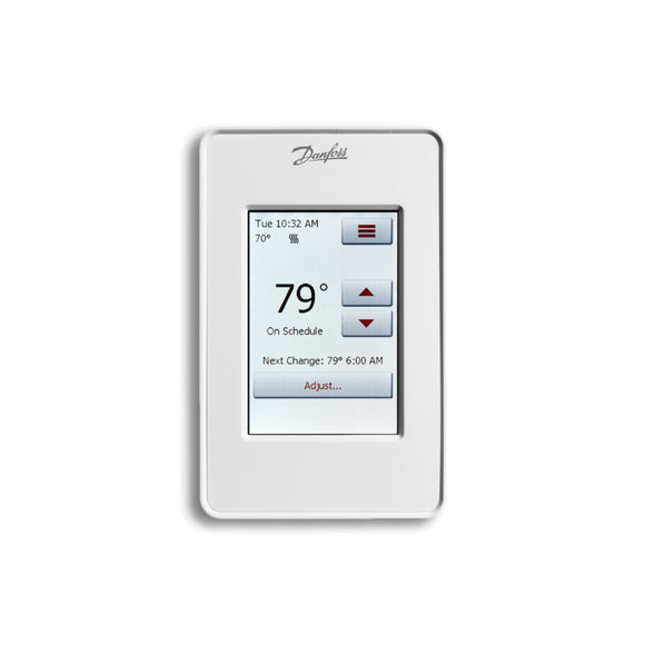 Touch Programmable Thermostat by Danfoss