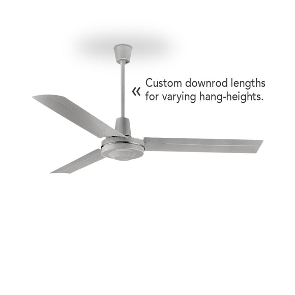 Custom Downrods For Ceiling Fans by Leading Edge