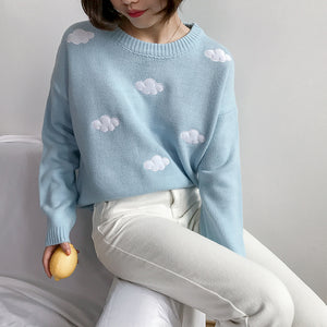 """Pastel Puff"" Sweater"