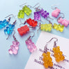 """Gummy Bear"" earrings"