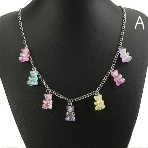 """Gummy Bear"" necklace"