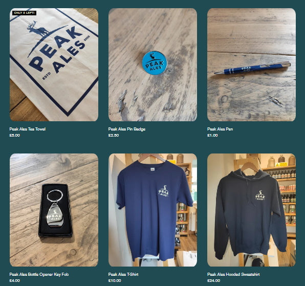 Peak Ales Merchandise Is Now Available To Buy Online