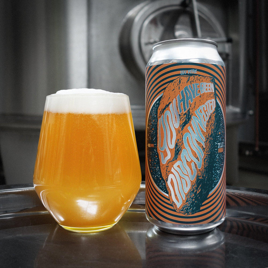 You Have Been Disconnected NE IPA In A Glass
