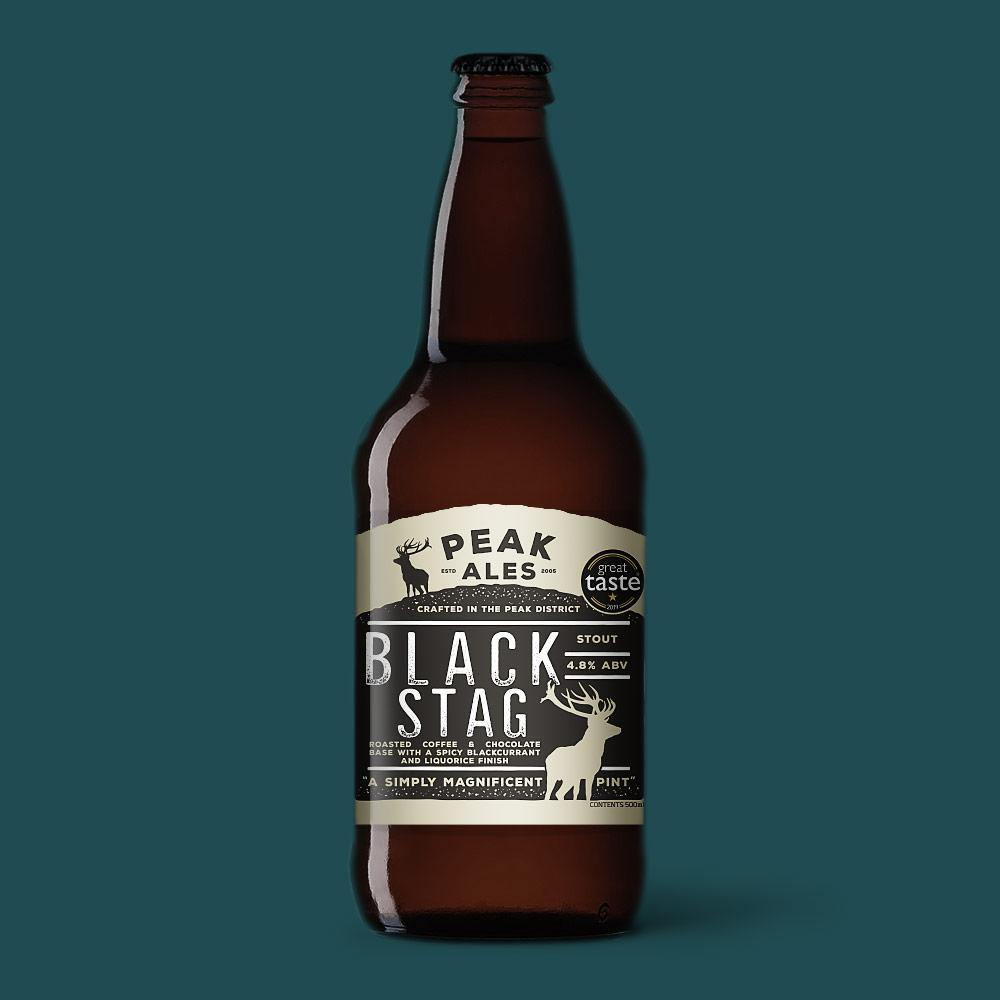Black Stag x 12 Bottles