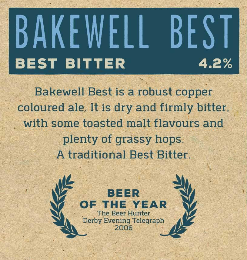 Bakewell Best x 12 Bottles Label Reverse