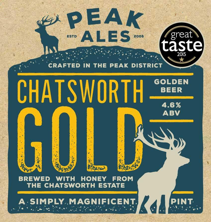 Chatsworth Gold x 12 Bottles Label